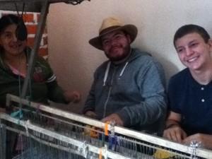 Daniel and Noah Weaving